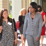 Behind the Scenes with Condoleezza Rice at Marlborough