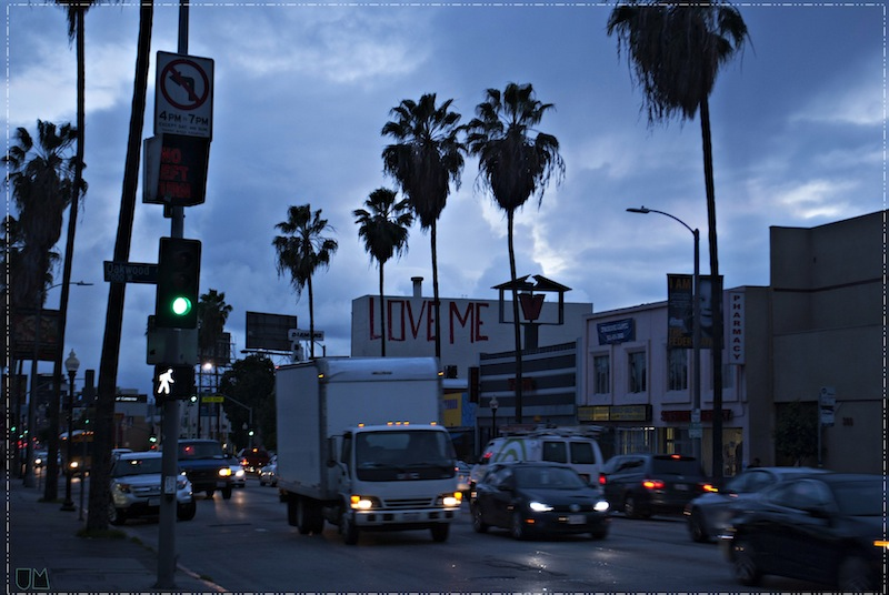 """Rainy day on Fairfax."" - Uchenna Masha."