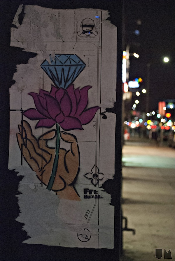 """Artwork on Melrose."" - Uchenna Masha"