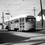 Larchmont Boulevard History: Streetcar Photo from 1950