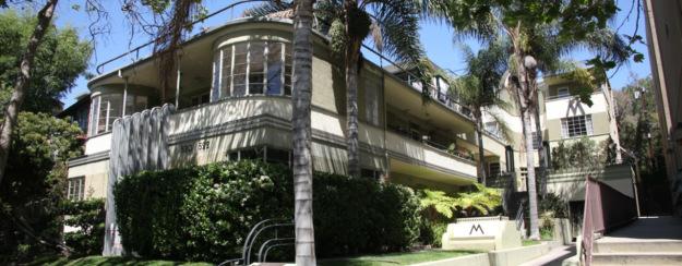 the mauretania penthouse style listing in hancock park