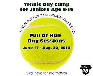 LATC Tennis Camp 