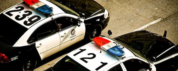LAPD-copcars