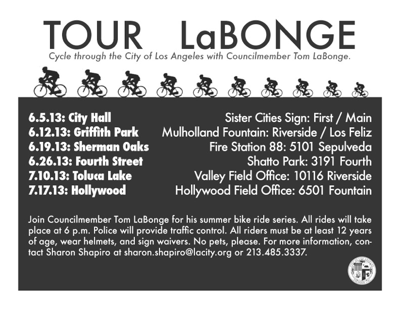 Tour La Bonge 2013 @ Fire Station 88 Sherman Oaks | Los Angeles | California | United States