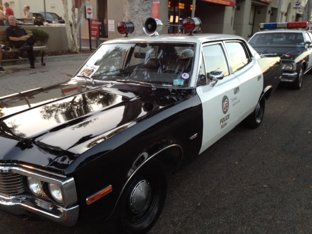 Classic LAPD Patrol Car...2012 National Night Out on Larchmont Boulevard