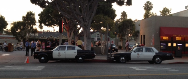 Last year's National Night Out...with classic LAPD patrol cars.