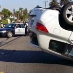 Accident on Beverly Boulevard Backs up Saturday Traffic