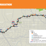LA Marathon Street Closures for Sunday, March 9