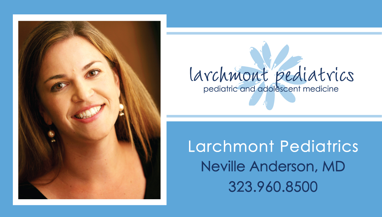 Neville Anderson MD Biz Card