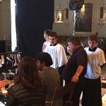 "TNT's ""Perception"" Shoots in St Brendan Church"