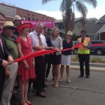 Larchmont Median Dedication Ceremony