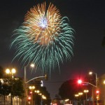Wilshire Country Club Firework Show