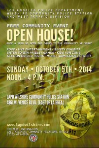 LAPD Open House @ LAPD Wilshire Community Police Station | Los Angeles | California | United States