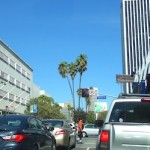 Road Work on Wilshire Blvd at Crenshaw and Fairfax