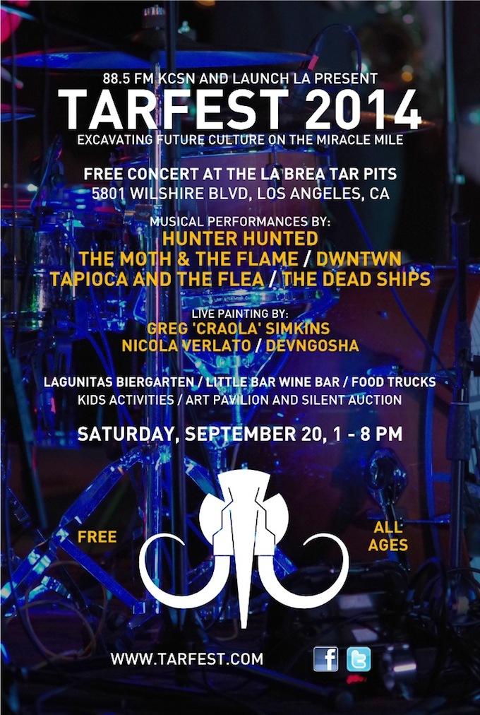 Tarfest @ Hancock Park - Page Museum | Los Angeles | California | United States