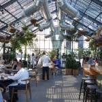 The Commissary Offers Greenhouse Dining