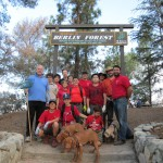 Boy Scout Troop 10 Hikes with a Purpose