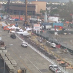 Construction Work on Crenshaw LAX Station Continues; Road Closures Again After the New Year