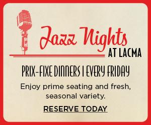 Patina Restaurant Group - Ray's Stark Bar - Jazz Nights Banner 1b