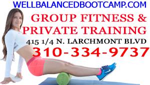 Well Balanced Boot Camp - August 2015