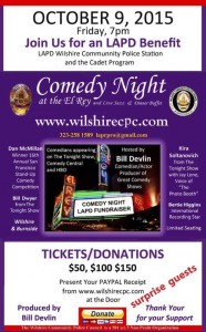 LAPD Wilshire Benefit -- Comedy Night at the El Rey @ El Rey Theatre | Los Angeles | California | United States