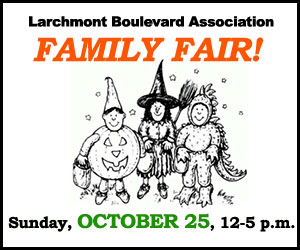 Larchmont Family Fair - Sept/Oct 2015